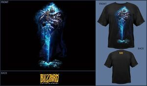 WORLD OF WARCRAFT CAMISETA CHICO ARTHAS L