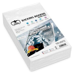 ULTIMATE GUARD COMIC BACKING BOARDS SILVER SIZE (100)