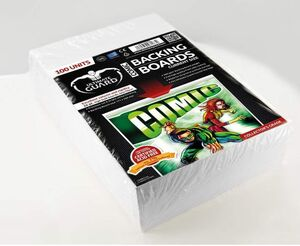ULTIMATE GUARD COMIC BACKING BOARDS CURRENT SIZE (100) (CARTONES)