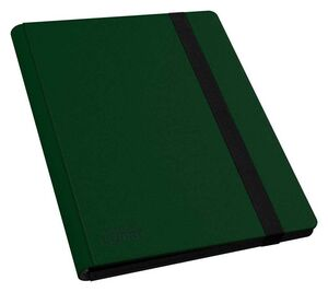 ULTIMATE GUARD 9-POCKET FLEXFOLIO XENOSKIN CARPETA PARA CARTAS VERDE