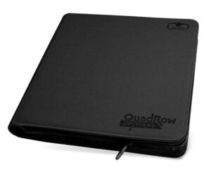ULTIMATE GUARD 12-POCKET QUADROW ZIPFOLIO XENOSKIN NEGRO