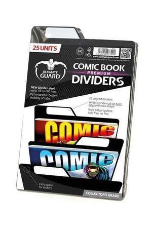 ULTIMATE GUARD PREMIUM COMIC BOOK DIVIDERS PARA COMICS NEGRO (25)