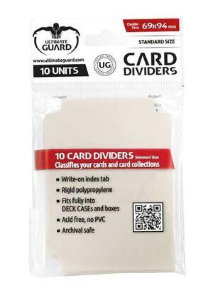 ULTIMATE GUARD CARD DIVIDERS TARJETAS SEPARADORAS (10) BEIGE
