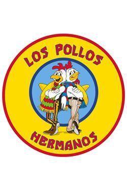 BREAKING BAD ALFOMBRA 90 X 90 CM LOS POLLOS HERMANOS