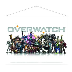 OVERWATCH ROLLO DE PARED DECORACION