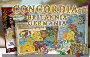 CONCORDIA EXPANSION BRITTANIA Y GERMANIA