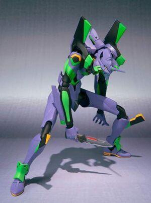 EVANGELION FIG ROBOT EVA-01 NUMBER 058