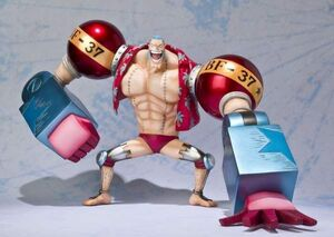 ONE PIECE FIG FIGUARTS FRANKY (NEW WORLD VERSION)
