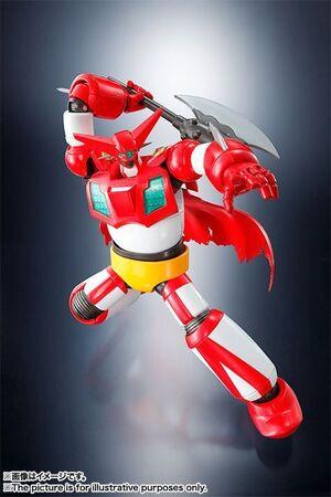 GETTER ROBOT FIG 14 CM GETTER-1 SUPER ROBOT CHOGOKIN
