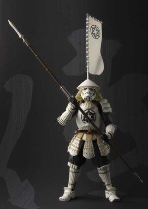 STAR WARS FIGURA 18 CM SAMURAI YARI ASHIGARU STORMTROOPER MEISHO MOVIE REAL