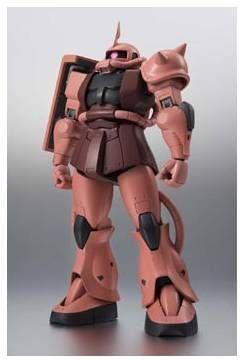 GUNDAM ROBOT SPIRITS FIGURA 12,5 CM ZAKU II CHAR´S CUSTOM VERSION M SUIT