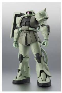 GUNDAM ROBOT SPIRITS FIGURA 12,5 CM MS-06 ZAKU II MASS PRODUCTION MODEL