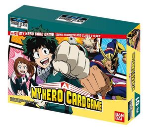 MY HERO ACADEMIA CARD GAME – DECKS I. MIDORIA & CLASS 1-A