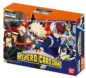 MY HERO ACADEMIA CARD GAME – DECKS K. BAKUGO & S. TODOROKI
