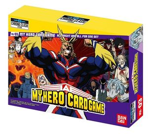 MY HERO ACADEMIA CARD GAME – DECKS ALL MIGHT & ALL FOR ONE