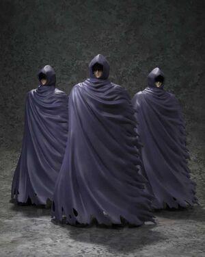 SAINT SEIYA MYTH CLOTH EX SET 3 FIGURAS MISTERIOUS SURPLICE