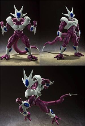 DRAGON BALL Z FIGURA S.H. FIGUARTS COOLER FINAL FORM 19 CM
