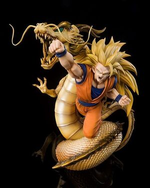DRAGON BALL Z ESTATUA PVC FIGUARTSZERO (EXTRA BATTLE) SUPER SAIYAN 3 SON GOKU 21 CM