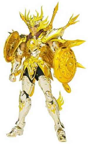 CABALLEROS DEL ZODIACO SAINT SEIYA SOUL OF GOLD FIGURA SCME LIBRA DOHKO (GOD CLOTH) 17 CM