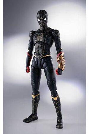SPIDER-MAN NO WAY HOME FIGURA 15 CM MARVEL SPIDER-MAN BLACK & GOLD SUIT