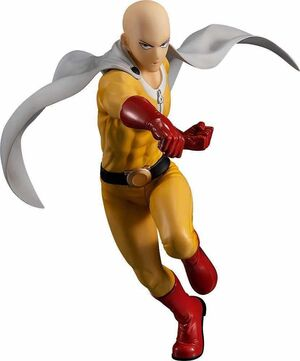 ONE PUNCH-MAN FIGURA 18 CM SAITAMA VER. TRAJE HEROE POP UP PARADE