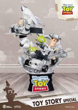 TOY STORY DIORAMA PVC 15CM D-STAGE SPECIAL EDITION
