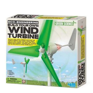 4M BUILD YOUR OWN WIND TURBINE. GREEN SCIENCE