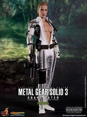 METAL GEAR SOLID 3 FIG VIDEOGAME MASTERPIECE 1/6 THE BOSS 30CM