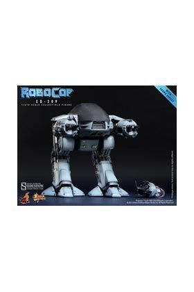 ROBOCOP ED-209 MMS FIGURA 30 CM SIXTH SCALE HOT TOYS