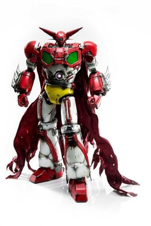 GETTER 1 FIGURA 40 CM GETTER ROBOT THREEZERO