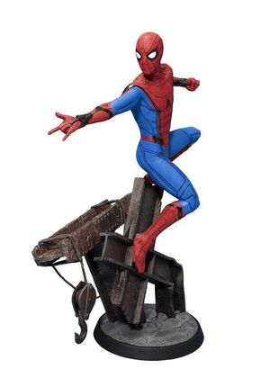 SPIDER-MAN HOMECOMING ESTATUA 32 CM SPIDER-MAN MOVIE ART FX