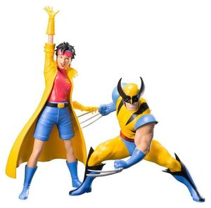 LOBEZNO & JUBILO PACK 2 ESTATUAS 16 CM MARVEL X-MEN 92 ART FX+