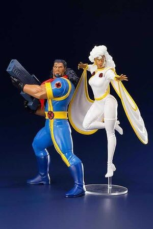 TORMENTA & BISHOP (STORM&BISHOP) PACK 2 ESTATUAS 20 CM MARVEL X-MEN 92 ART+