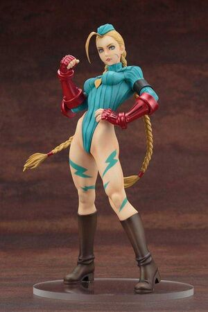 STREET FIGHTER ESTATUA 22.5 CM CAMMY TRAJE ALPHA BISHOUJO