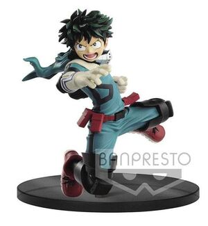 MY HERO ACADEMIA ESTATUA 14CM THE AMAZING HEROES IZUKU MIDORIYA