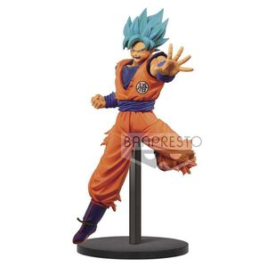 DRAGON BALL SUPER ESTATUA 16CM CHOSENSHIRETSUDEN SSGSS SON GOKU