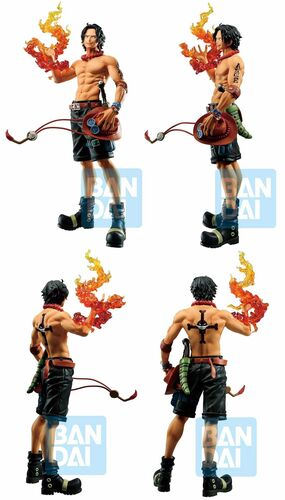 ONE PIECE ESTATUA 20CM ICHIBANSHO PORTGAS D.ACE (TREASURE CRUISE)