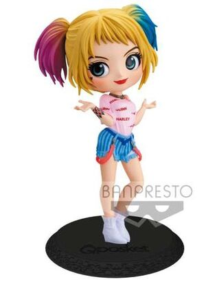 HARLEY QUINN ESTATUA 14 CM Q POSKET BIRDS OF PREY DC COMICS CHARACTERS VOL. 3 (VER. B)