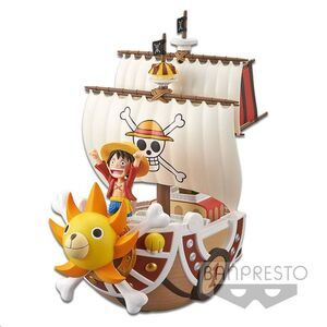 ONE PIECE FIG 19 CM THOUSAND SUNNY PIRATE SHIP MEGA WCF