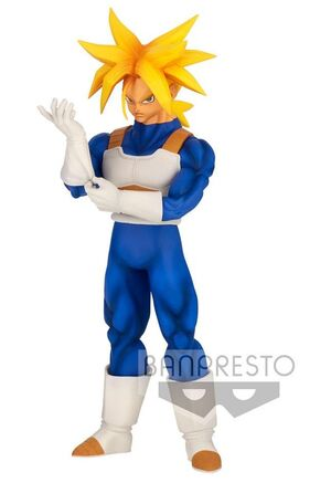 DRAGON BALL Z ESTATUA PVC SOLID EDGE WORKS SUPER SAIYAN TRUNKS 23 CM