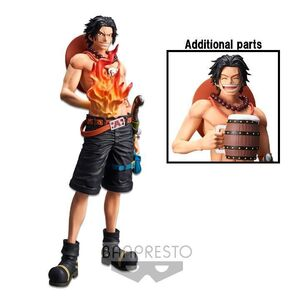 ONE PIECE ESTATUA PVC GRANDISTA THE GRANDLINE MEN PORTGAS D.ACE 28CM