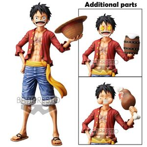 ONE PIECE ESTATUA 28CM GRANDISTA NERO MONKEY D. LUFFY