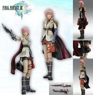 FINAL FANTASY XIII PLAY ARTS (KAI) - LIGHTNING
