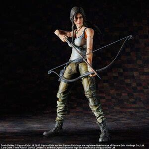 TOM RAIDER FIG 23CM LARA CROFT PLAY ARTS KAI
