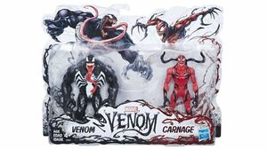 VENOM + CARNAGE PACK  2 FIGURAS 15 CM MARVEL LEGENDS