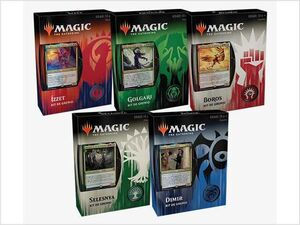 MAGIC- GREMIOS DE RAVNICA KIT DE GREMIO - CASTELLANO