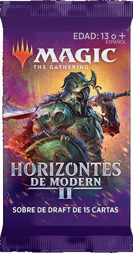MAGIC - HORIZONTES DE MODERN II SOBRE DE DRAFT EN CASTELLANO