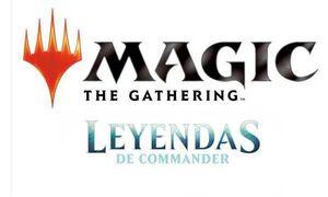 MAGIC - LEYENDAS DE COMMANDER BARAJA CASTELLANO
