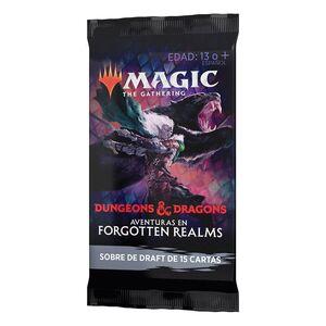 MAGIC - D&D AVENTURAS EN FORGOTTEN REALMS SOBRE DE DRAFT (CASTELLANO)