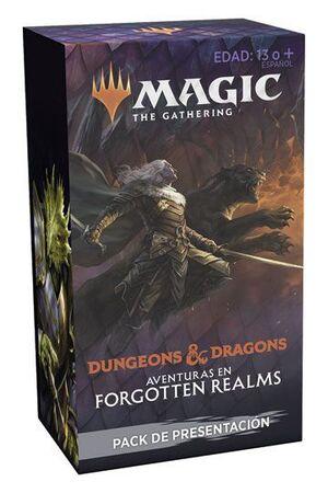 MAGIC - D&D AVENTURAS EN FORGOTTEN REALMS PACK PRESENTACIÓN (CASTELLANO)